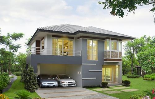 ตัวอย่างสีบ้าน