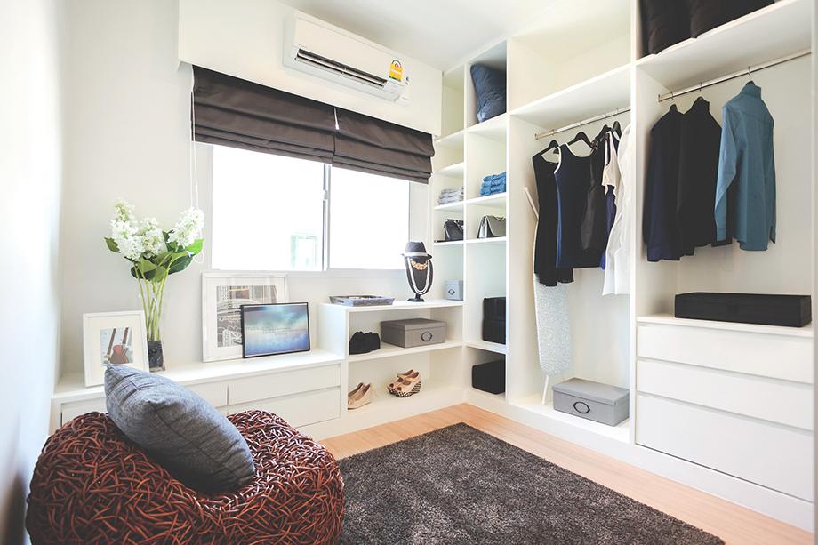 Bedroom & Living Space